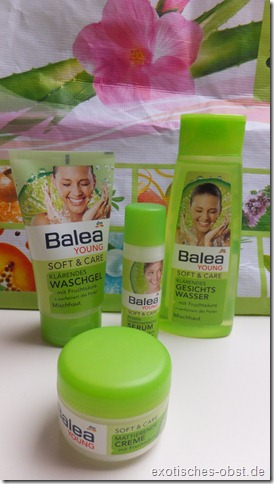 Balea Young Soft & Care Pflegeserie mit Fruchtsäure